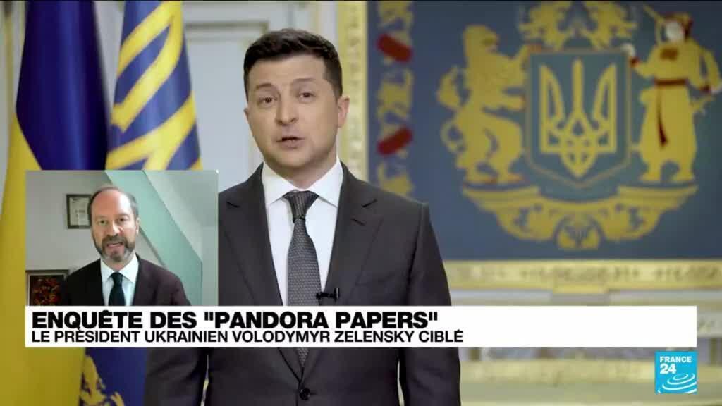 """2021-10-04 14:03 """"Pandora papers"""" : un roi, sept présidents, quatre Premiers ministres épinglés"""