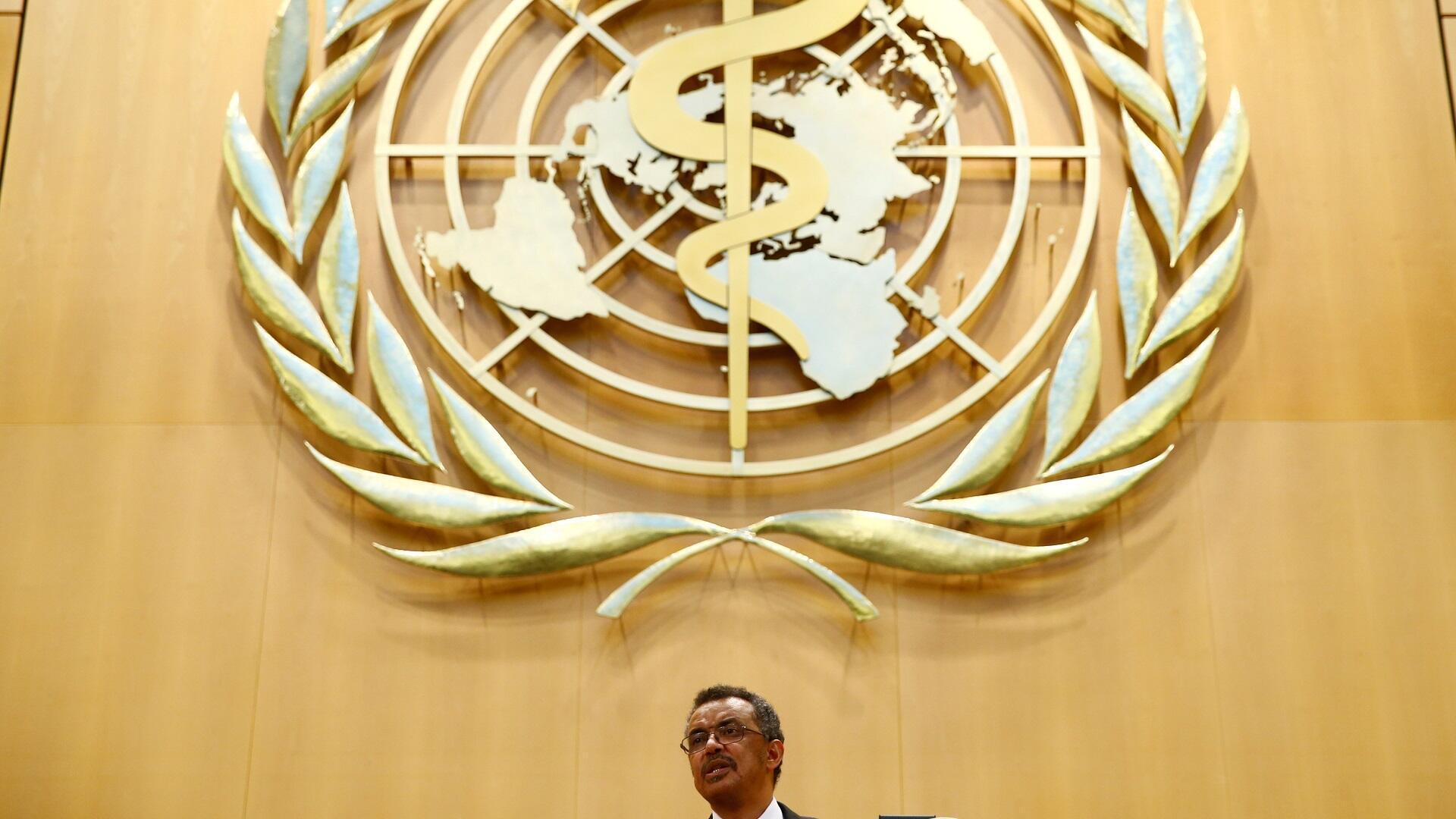 Archivo: el director general de la Organización Mundial de la Salud, Tedros Adhanum Gabrios.