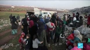 2019-12-30 03:34 War in Syria: EU, Turkey call on regime to stop bombing of Idlib province