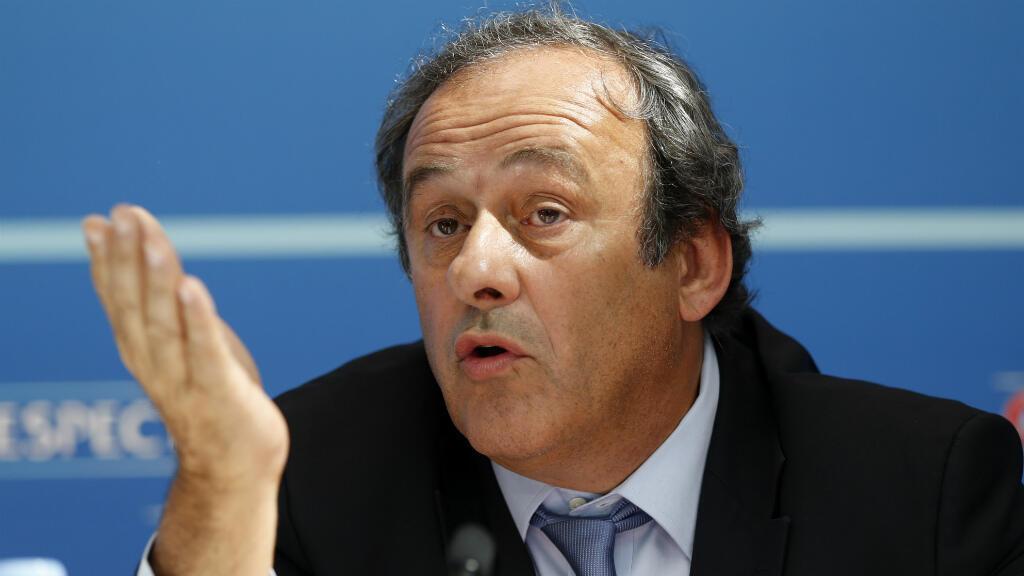 Michel Platini s'est exprimé pour la première fois depuis sa suspension de toute activité dans le monde du football.