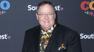 Le directeur artistique de Disney John Lasseter, à Hollywood, le 8 novembre 2017.