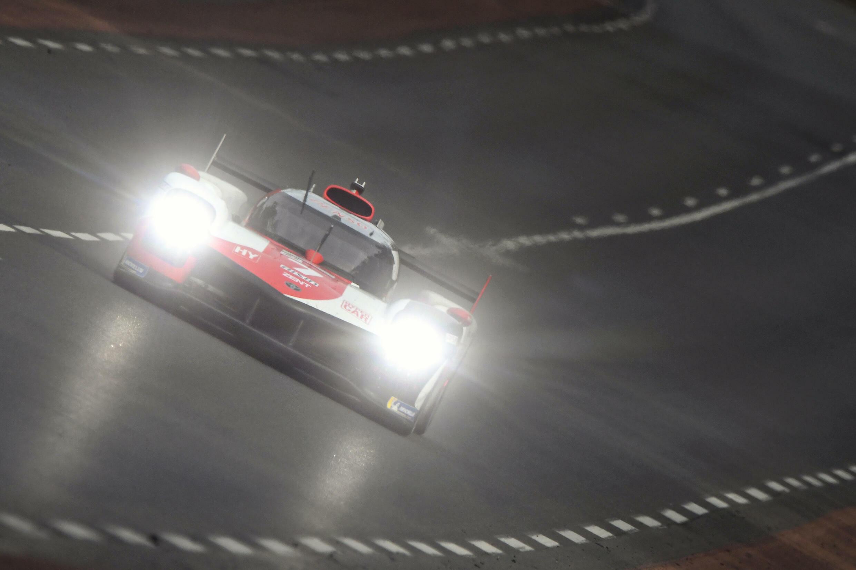 Kobayashi on night duty at Le Mans