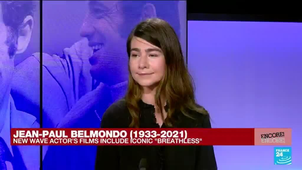 2021-09-09 17:21 'Belmondo was the cool rebel of the new wave of French cinema'