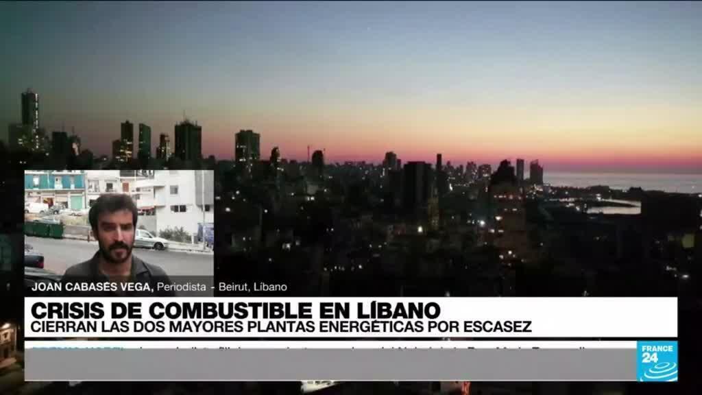 """2021-10-09 19:03 Joan Cabáses: """"La falta de combustible en el Líbano ha bloqueado el servicio eléctrico en el país"""""""