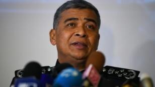 قائد الشرطة الوطنية الماليزية خالد أبو بكر