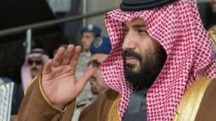 صورة وزعها الديوان الملكي السعودي لولي العهد الأمير محمد بن سلمان في 21 شباط/فبراير 2018.