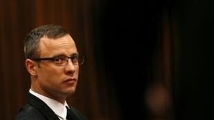 Oscar Pistorius pictured in court in March 2014.