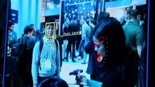 Un outil de reconnaissance faciale exposé par Intel à Las Vegas lors du dernier Consumer Electronic Show (CES) en janvier.