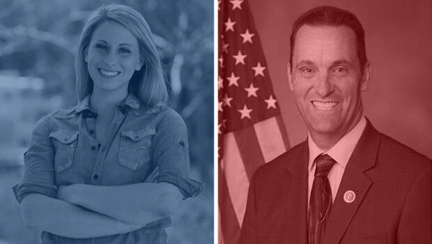 Cámara en California 25: Katie Hill (demócrata) vs. Steve Knight (republicano)