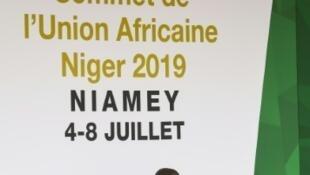 A l'ouverture du sommet de l'Union africaine (UA) à Niamey, le 4 juillet 2019