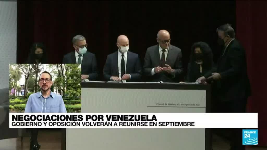 2021-08-16 14:43 Informe desde Ciudad de México: Inician negociaciones entre Gobierno venezolano y oposición
