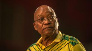 Jacob Zuma, ici en décembre 2017, lors de la 54e conférence annuelle du Congrès national africain à Johannesbourg.