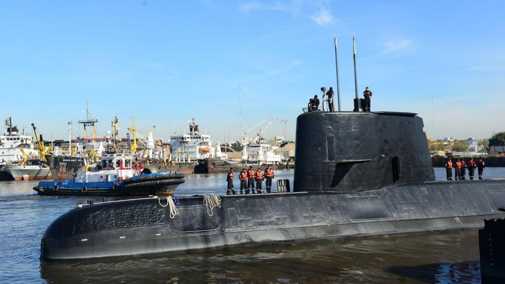 Photo du sous-marin San Juan prise en 2014 à Buenos Aires.