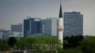 مسجد المركز الإسلامي في فيينا، 14 نيسان/أبريل 2017.
