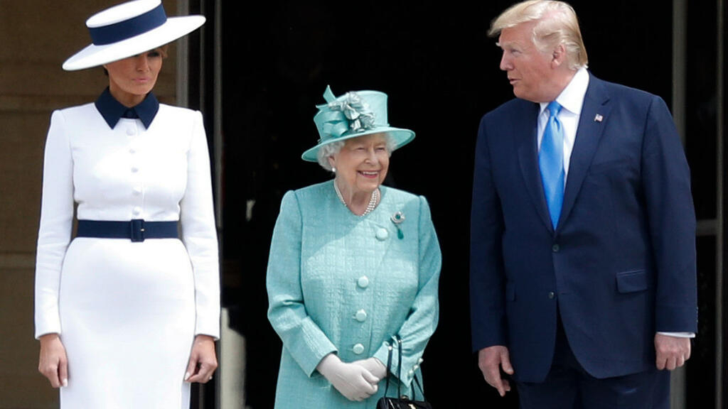 Trump, first lady meet the Queen during UK state visit