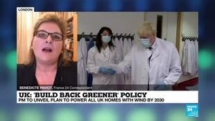 2020-10-06 09:10 'Build back greener policy': UK's Johnson pitches wind-driven recovery from pandemic