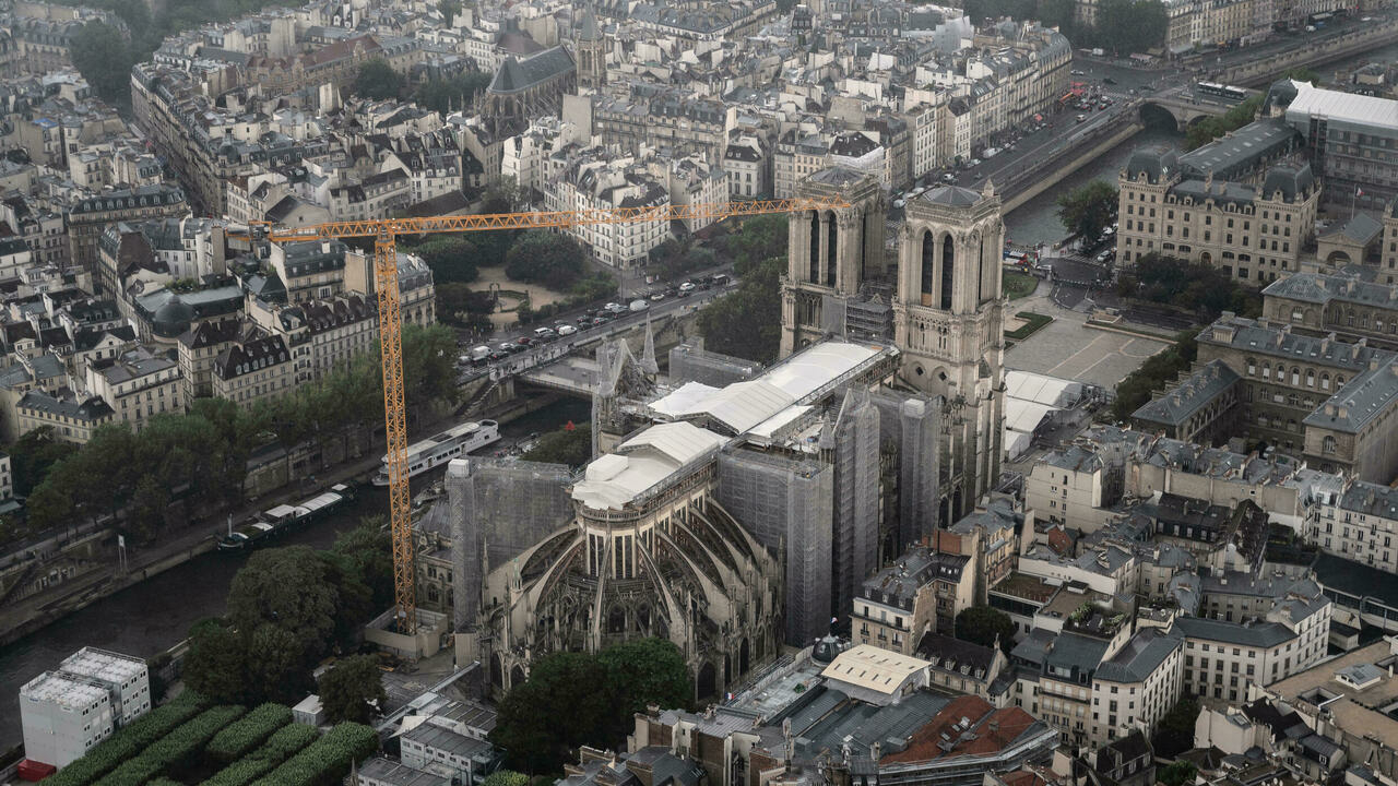 Notre-Dame Cathedral ready for restoration after post-fire safety work completed