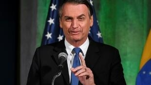 Brazil's President Jair Bolsonaro is appealing for broad US investment after opening up a base to commercial satellites