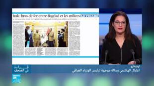 اغتيال الهاشمي رسالة لرئيس الوزراء العراقي؟