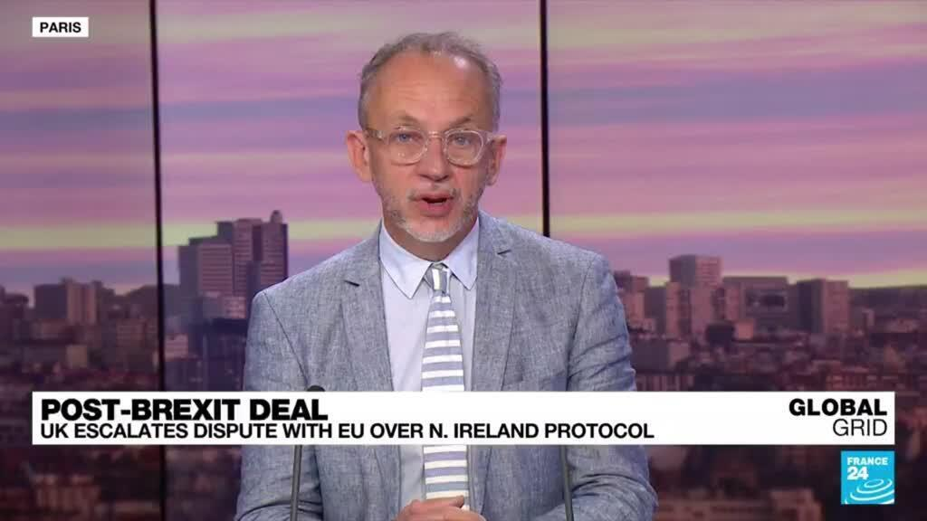 2021-10-13 09:45 Post-Brexit deal: UK escalates dispute with EU over N. Ireland protocol