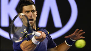 Le Serbe Novak Djokovic remporte sa sixième finale à Melbourne.