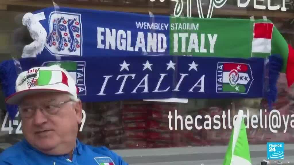 2021-07-11 14:35 Euro 2020: todo listo para el duelo entre Inglaterra e Italia, en una final de grandes combinados