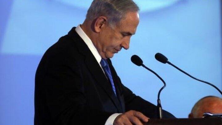 Le Premier ministre isréalien Benjamin Netanyahou prononce un discours à Jérusalem, le 16 février.