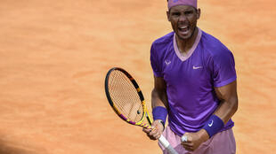 Spain's Rafael Nadal reached the Italian Open final for the 12th time.