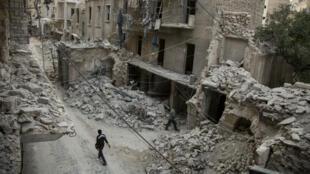 Alep, le 2 mai 2016.