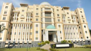 La Cour constitutionnelle à Libreville, au Gabon.