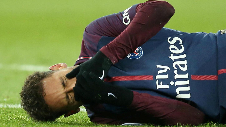 Neymar se lesionó el 25 de febrero en el choque frente a Olympique de Marsella en el Parque de los Príncipes.