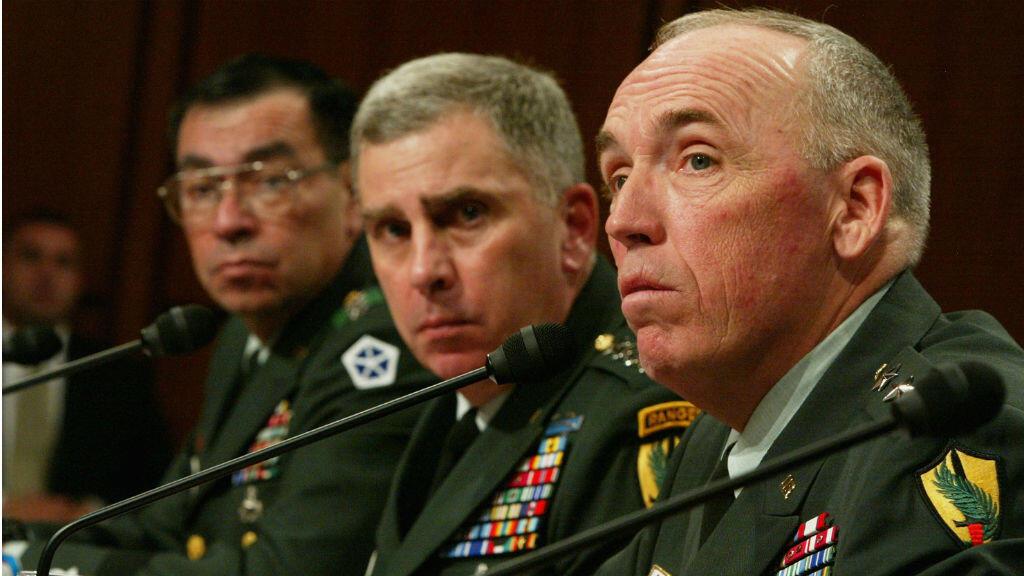 Le général américain Geoffrey Miller a dirigé le camp de Guantanamo entre novembre 2002 et avril 2004.