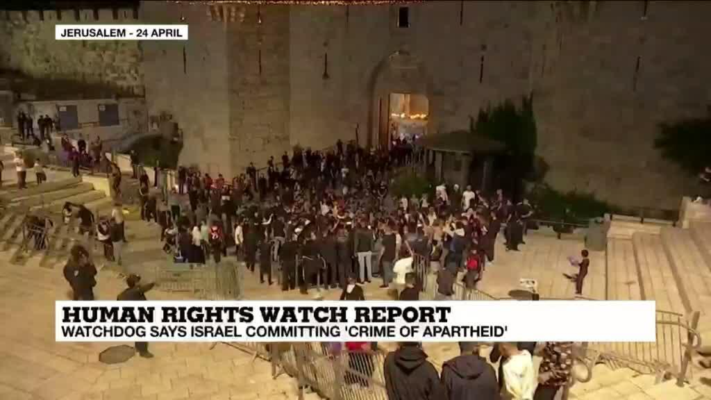 2021-04-27 14:12 Human rights watchdog criticises Israel for treatment of Palestinians