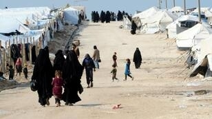 Some 12,000 foreigners -- 4,000 women and 8,000 children - are currently stranded, mainly in Al-Hol camp in northeastern Syria