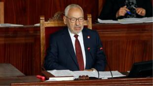 Le chef historique du parti d'inspiration islamiste, Rached Ghannouch, a été élu mercredi 13 novembre président du Parlement tunisien.