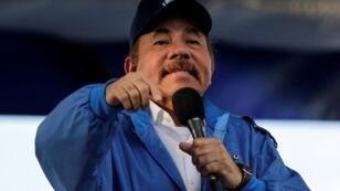 Daniel Ortega hizo este anuncio frente a sus partidarios en Managua, este 29 de agosto de 2018.