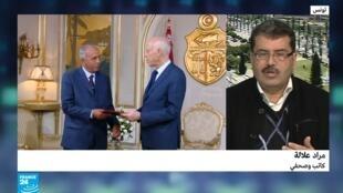 الكاتب والصحافي التونسي مراد علالة