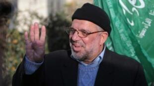 حسن يوسف القيادي في حركة حماس في رام الله في 2014