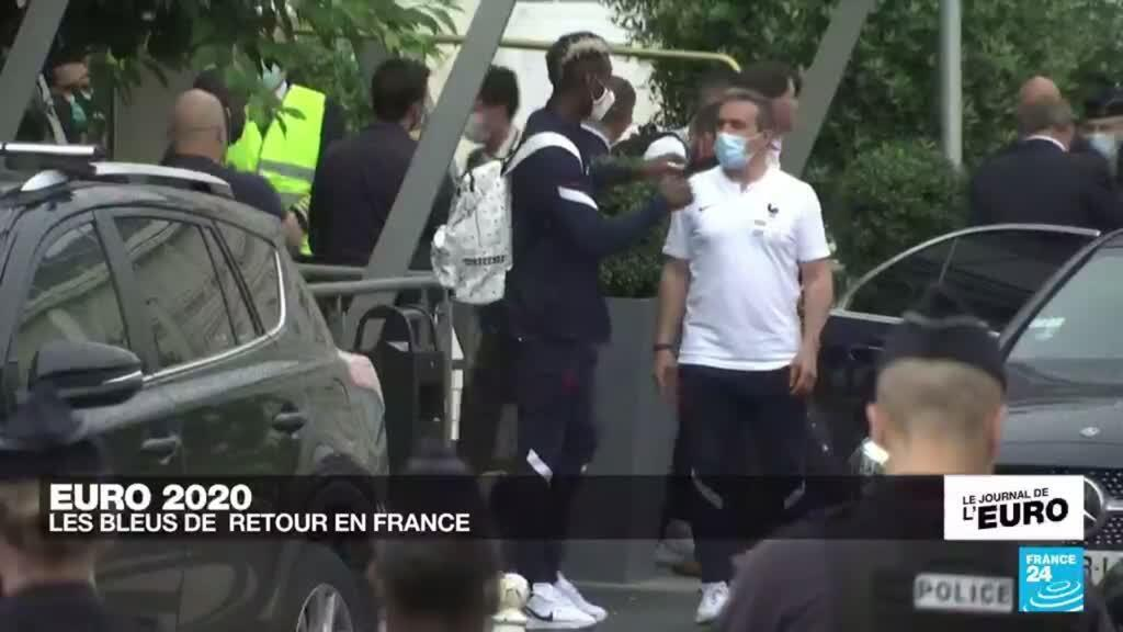 2021-06-29 23:55 Euro 2021 : les Bleus de retour en France après la défaite contre la Suisse