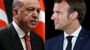 Erdogan et Macron