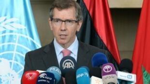 البمعوث الأممي إلى ليبيا برناندينيو ليون
