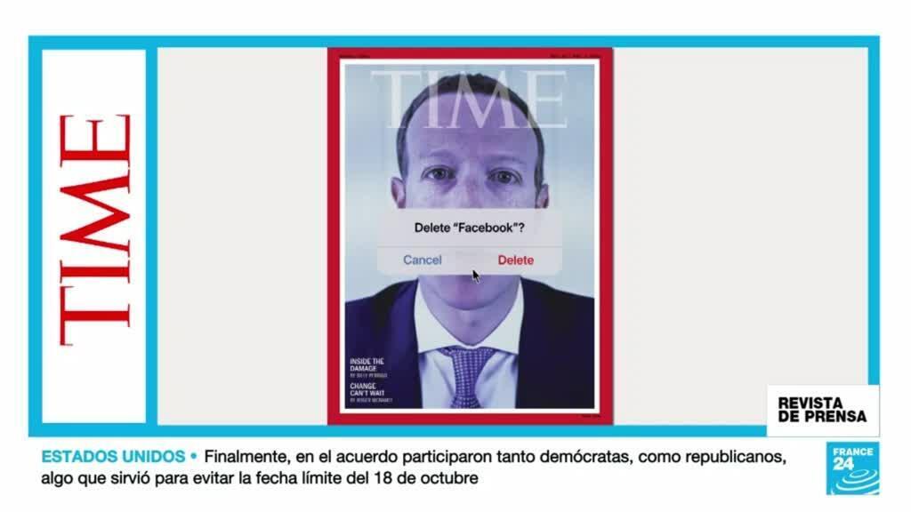 """Portada de la revista TIME que recoge el tema de la semana con la pregunta: """"¿Borrar Facebook?""""."""