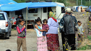 The nomadic Roma have long suffered discrimination and are often faced with extreme poverty and unequal access to health care and education