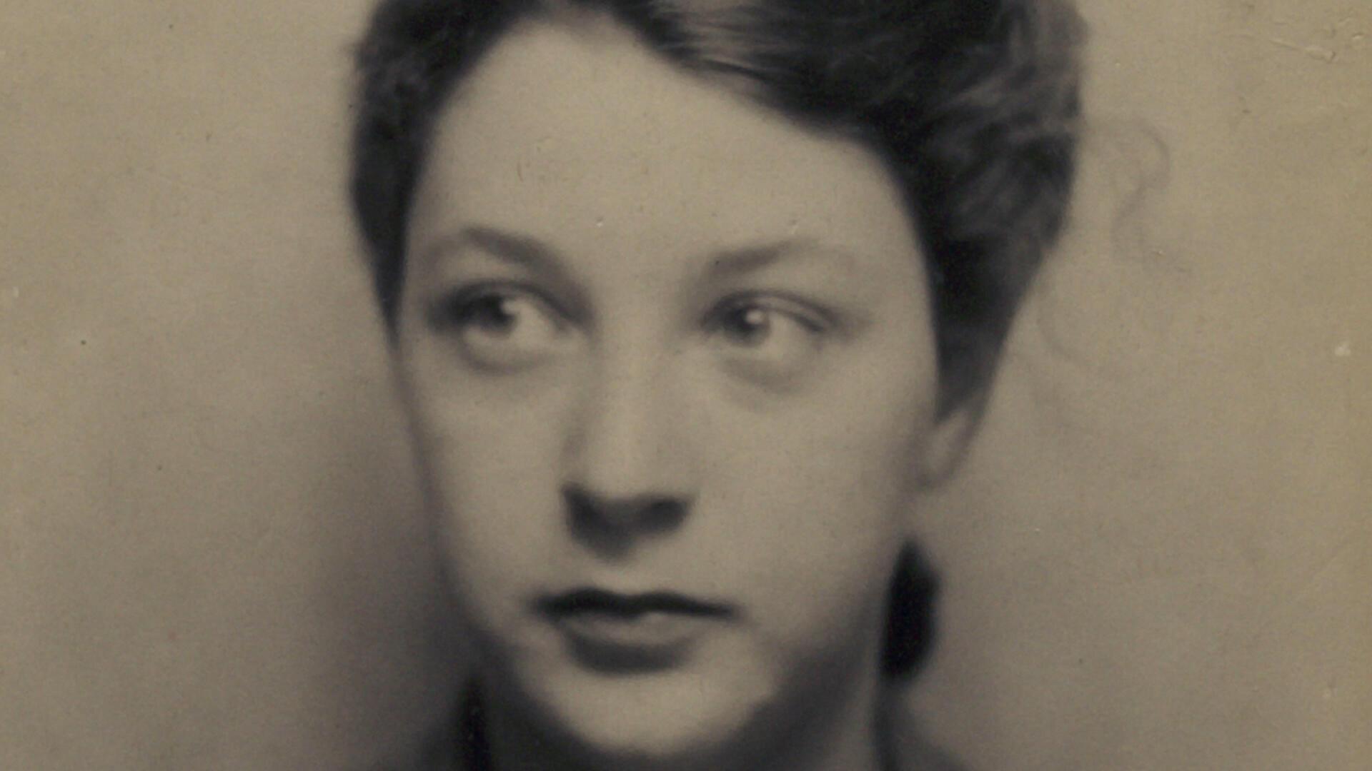 Colette Marin-Catherine lorsqu'elle était adolescente.