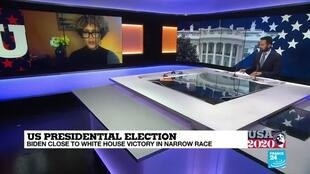 2020-11-06 22:07 US Presidential Election, Biden close to White House victory in narrow race