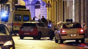 عملية أمنية لمكافحة الإرهاب في بلجيكا