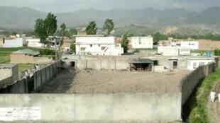 المنزل الذي كان يتواجد فيه بن لادن