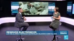 Medio ambiente - Residuos electrónicos