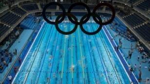 حصة تدريبية في الحوض الأولمبي في ريو في 4 آب/أغسطس 2016
