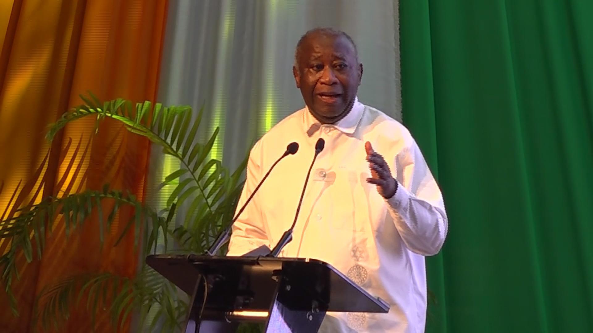 """Nouveau parti de Laurent Gbagbo : """" c'est une structure pour préparer mon retrait"""""""